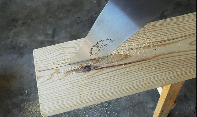Bad Axe Tool Works - D8 Hand and Panel Saws