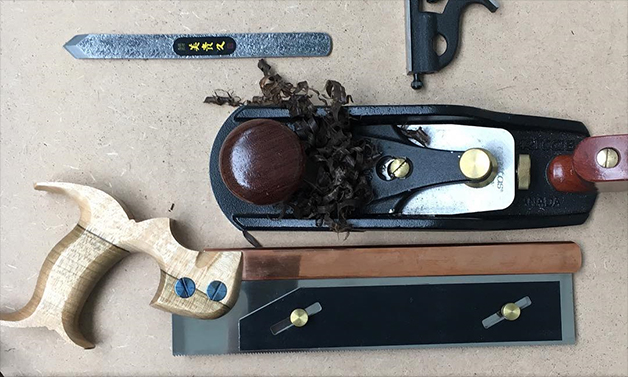 Bad Axe Tool Works - 10-inch Luthier's Fret and Carcase Saw